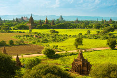 Bagan świątynie Fotografia Royalty Free