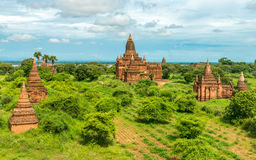 Bagan świątynie, Myanmar Zdjęcie Stock