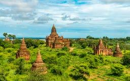 Bagan świątynie, Myanmar Obrazy Stock