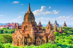Bagan, ζώνη Mynmar Archeological Στοκ Εικόνες