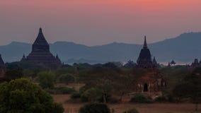 bagan ηλιοβασίλεμα της Βιρμανίας φιλμ μικρού μήκους