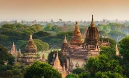 bagan ναοί ανατολής της Myanmar Στοκ φωτογραφία με δικαίωμα ελεύθερης χρήσης