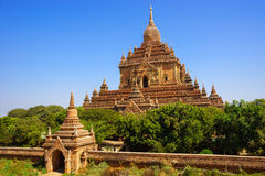 bagan ναός της Myanmar htilominlo Στοκ φωτογραφίες με δικαίωμα ελεύθερης χρήσης