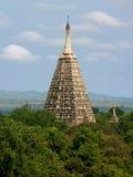 bagan буддийская башня виска mahabodhi Стоковая Фотография