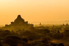 bagan восход солнца стоковые изображения