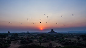 bagan восход солнца стоковое фото rf