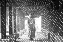 BAGAN, МЬЯНМА - 20-ОЕ ФЕВРАЛЯ: Неопознанное молодое sta послушников буддизма Стоковое фото RF