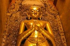 Bagan, Мьянма, пагода Стоковые Изображения