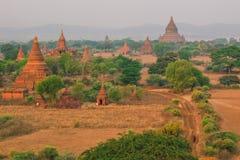Bagan, Мьянма, пагода Стоковое фото RF