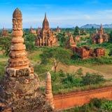Bagan Мьянма Стоковые Фото