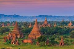 Bagan Мьянма Стоковая Фотография
