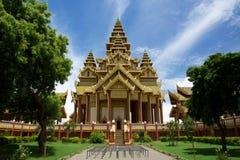 Дворец Bagan золотой стоковые изображения