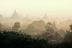 Bagan ancient pagodas in Myanmar. Stock Photography