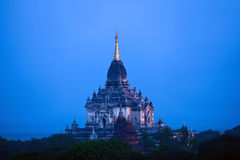 Bagan archäologische Zone, Myanmar Stockbilder
