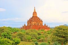 Bagan archäologische Zone, Myanmar Lizenzfreies Stockbild