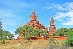 Bagan archäologische Zone, Myanmar Stockfotografie