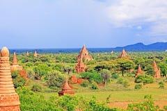 Bagan archäologische Zone, Myanmar Lizenzfreie Stockbilder