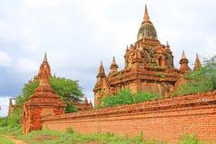 Bagan archäologische Zone, Myanmar Stockbild