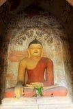 Bagan Archaeological Zone Buddha Image Myanmar Arkivfoton