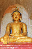 Bagan Archaeological Zone Buddha Image, Myanmar Stock Foto's