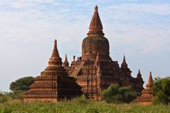 Bagan Archaeological Zone Myanmar Arkivbilder