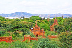 Bagan Archaeological Zone, Myanmar Royalty Free Stock Photo