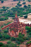 Bagan archaeological zone, Myanmar Royalty Free Stock Images