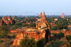 Bagan Archaeological zone, Myanmar Stock Image