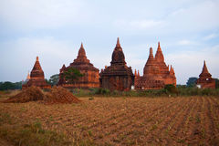 Bagan Archaeological Zone, Myanmar Royalty Free Stock Photos