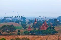 Bagan archaeological zone, Myanmar Royalty Free Stock Photo