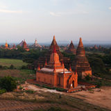 Bagan Archaeological Zone, Myanmar Royalty Free Stock Photography