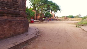 Bagan,Archaeological Zone stock video footage