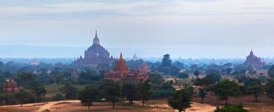 Bagan Archaeological Zone, Myanmar Royalty Free Stock Image