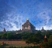 Bagan archaeological zone, Myanmar Royalty Free Stock Photos