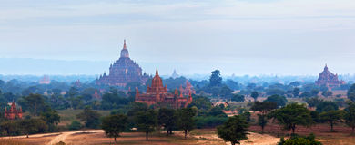 Bagan Archaeological Zone, Myanmar Stock Image