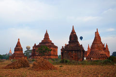 Bagan Archaeological Zone, Myanmar Stock Images