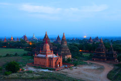 Bagan Archaeological Zone, Myanmar Stock Photography