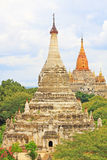 Bagan Archaeological Zone Panorama, Myanmar Stock Fotografie
