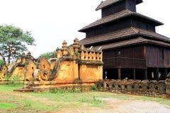 Bagan Archaeological Zone Residence, Myanmar Stockbild