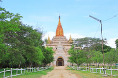 Bagan Archaeological Zone ` s Ananda Temple, Myanmar Stock Foto