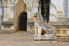 Bagan Archaeological Zone ` s Ananda Temple, Myanmar Royalty-vrije Stock Foto's