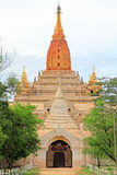 Bagan Archaeological Zone-` s Ananda Temple, Myanmar Stockbilder
