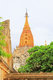 Bagan Archaeological Zone-` s Ananda Temple, Myanmar Stockbild