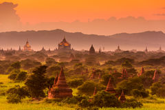 Bagan Archeological Zone Royalty Free Stock Photo