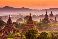 Bagan Archeological Zone Royalty Free Stock Image