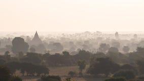 Bagan au lever de soleil photos libres de droits
