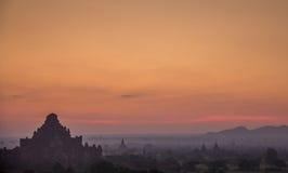 Bagan Birma Zdjęcia Royalty Free