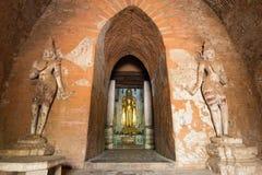 Bagan Buddha Image Arkivfoto