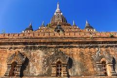 Bagan buddha tower at day Royalty Free Stock Images