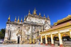 Bagan buddha tower at day Royalty Free Stock Photography